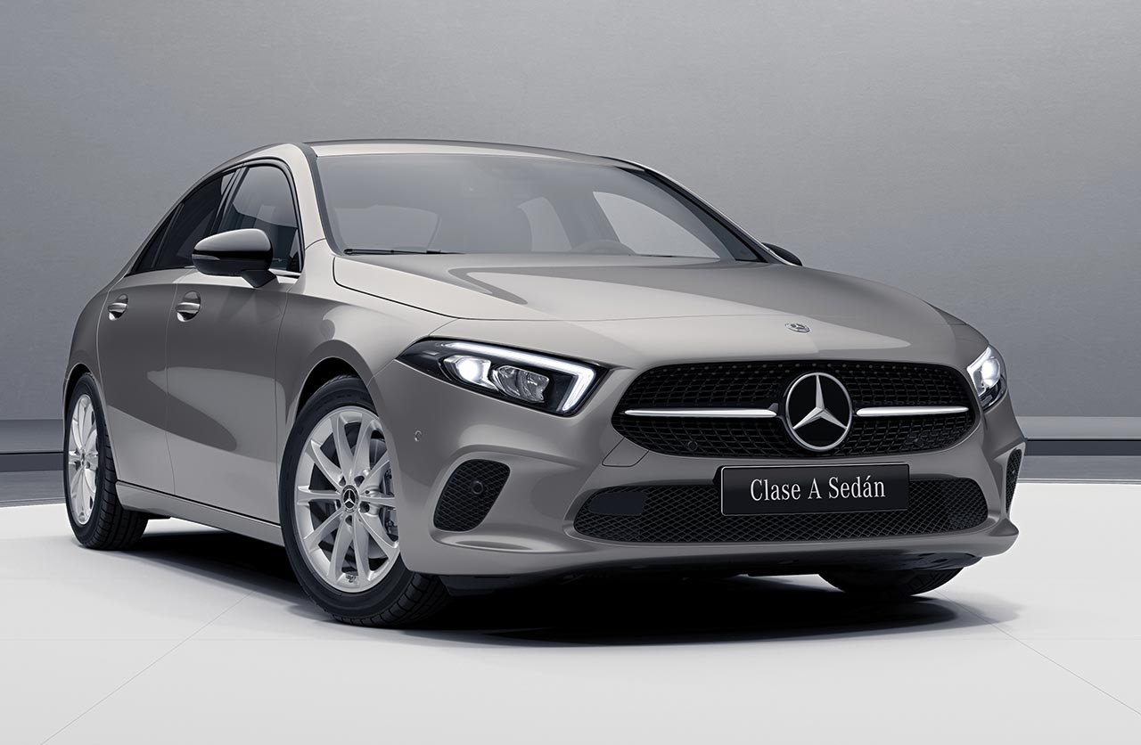Mercedes-Benz lanzó el Clase A Sedán