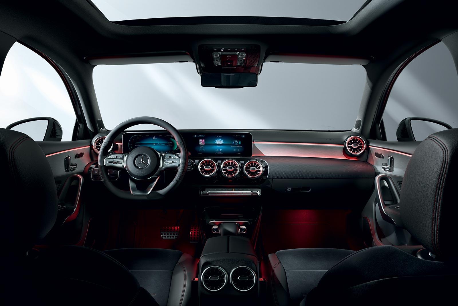 Interior Mercedes-Benz Clase A Sedán