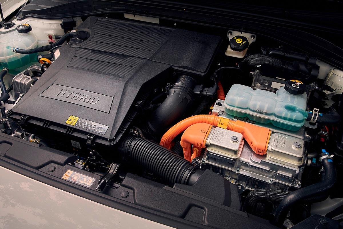 Motor híbrido Hyundai Ioniq 2020