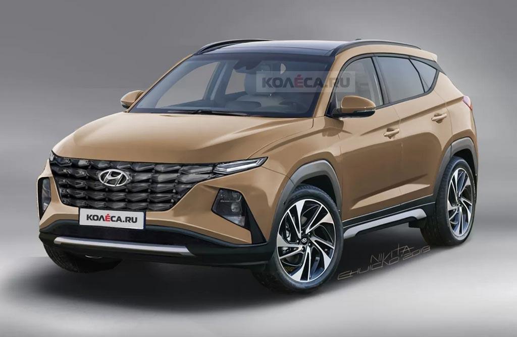 Anticipan el futuro Hyundai Tucson
