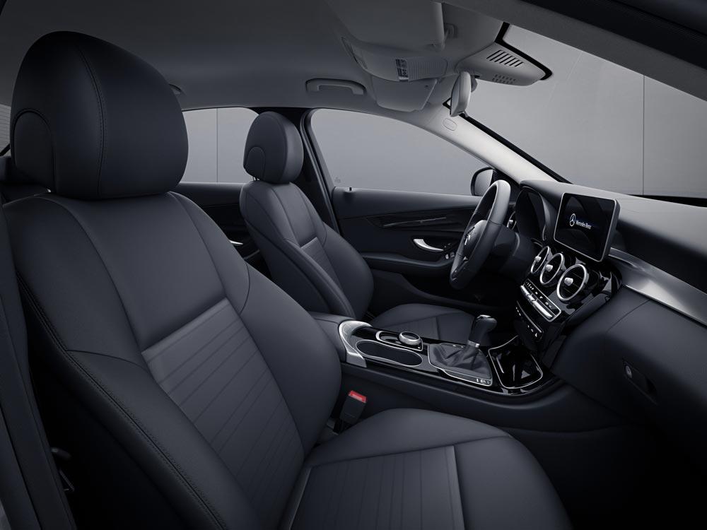 Interior Mercedes-Benz Clase C