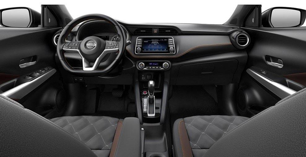 Interior Nissan Kicks Special Edition