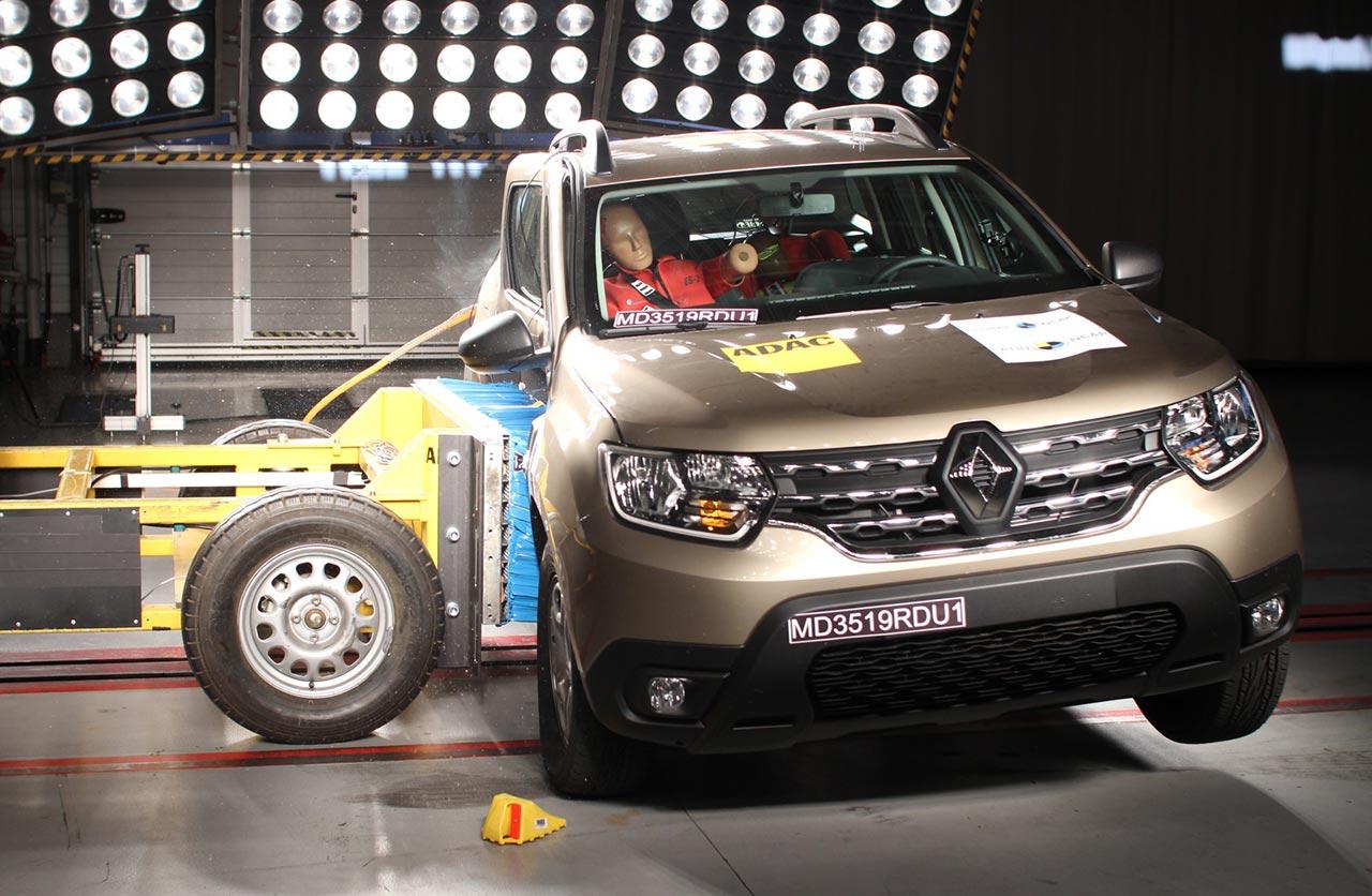 Nueva Renault Duster prueba Latin NCAP