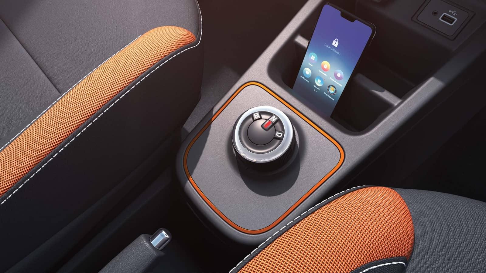 Interior Renault Kwid 2020