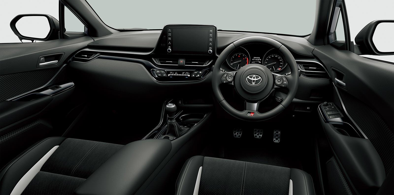 Interior Toyota C-HR GR Sport
