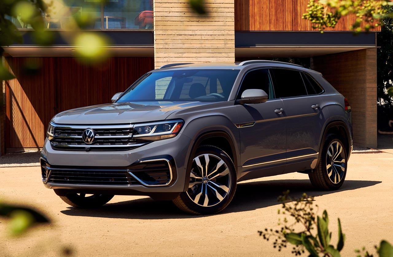 SUV con estilo Coupé: Volkswagen presentó el Atlas Cross Sport
