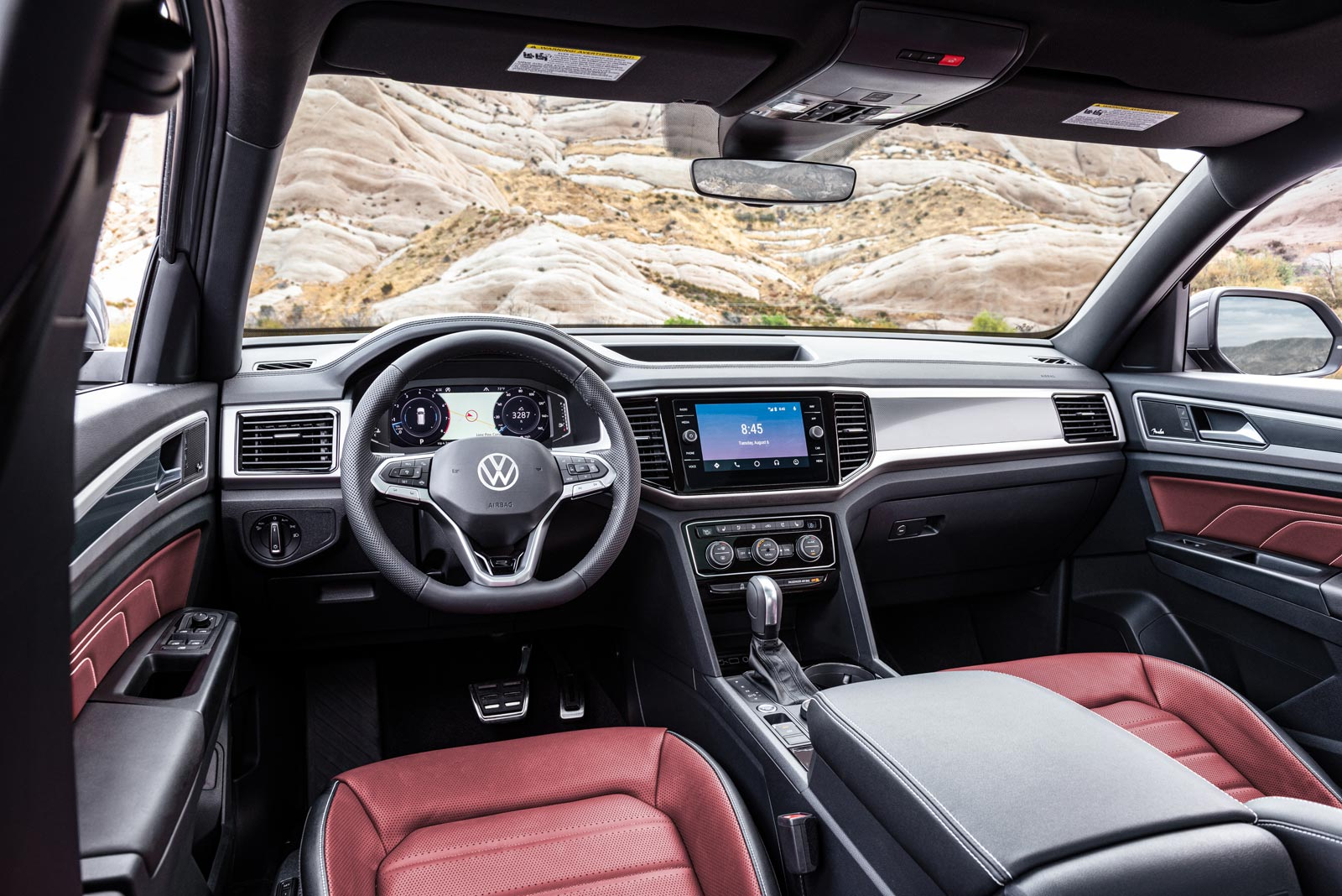 Interior Volkswagen Atlas Cross Sport