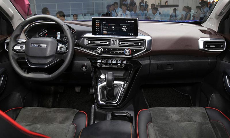 Interior Pick up Peugeot (Changan Kaicene F70)