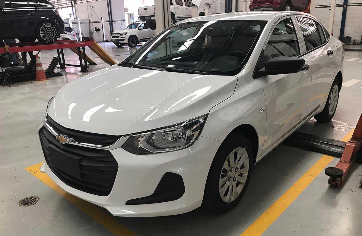 Así luce el nuevo Chevrolet Onix Plus más básico