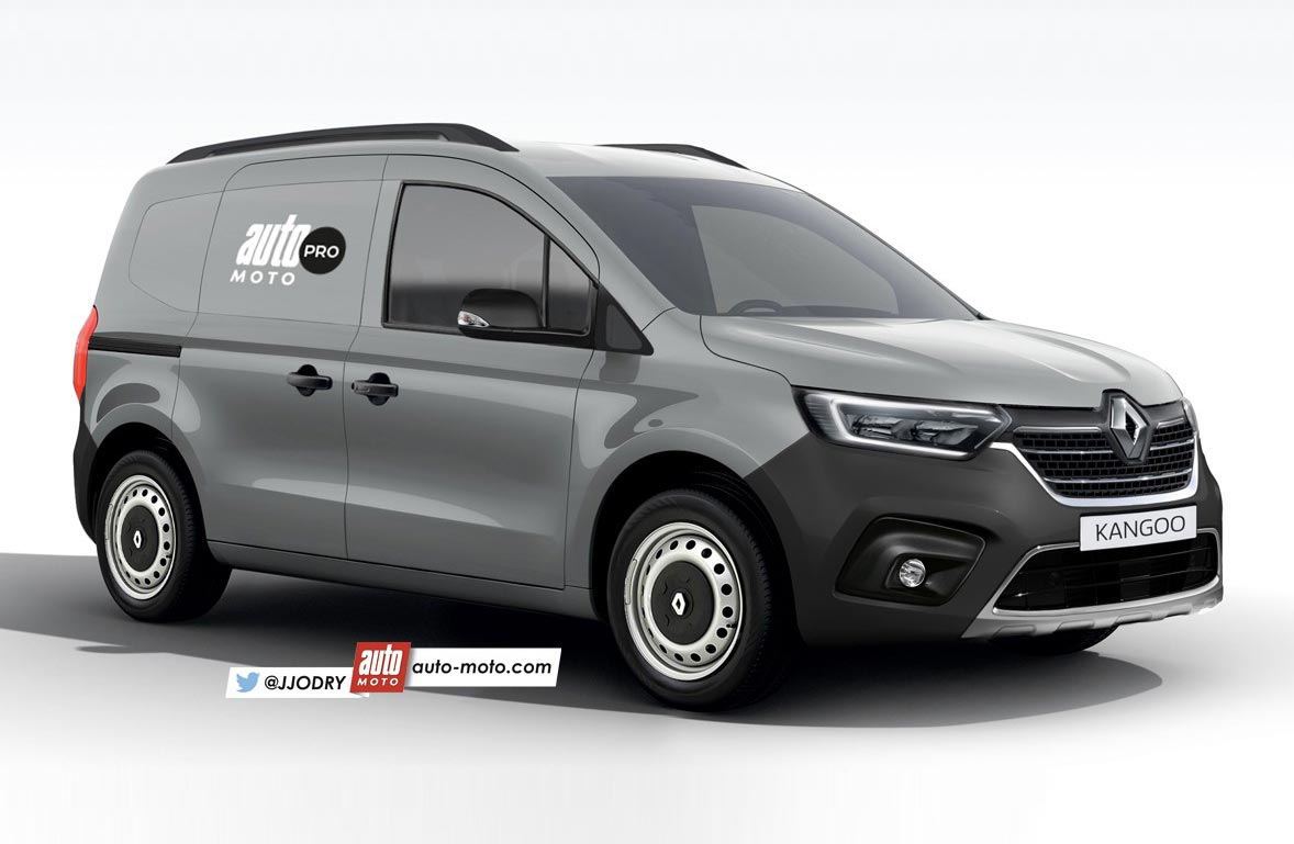 Así sería el próximo Renault Kangoo