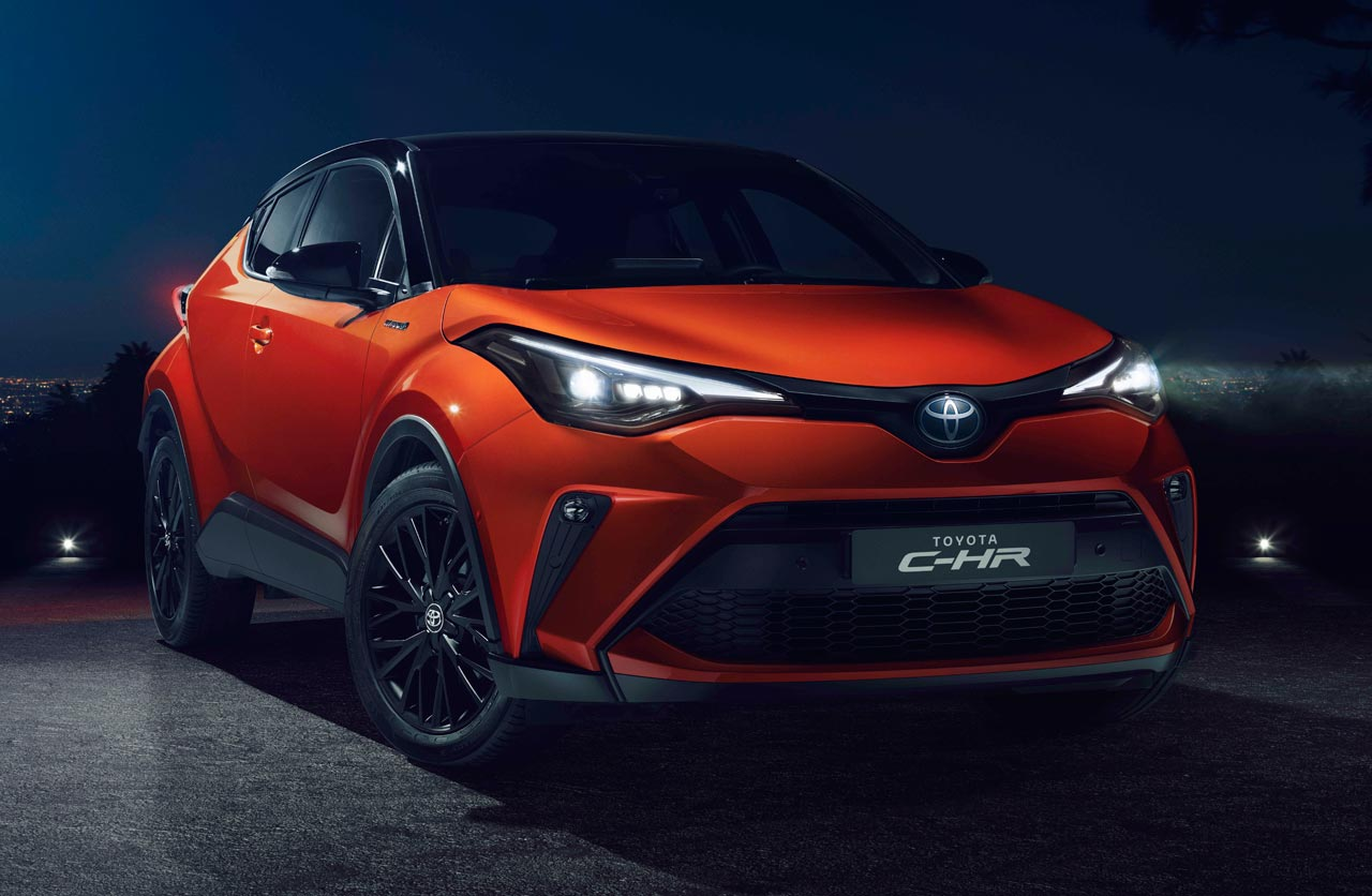 Toyota actualizó el C-HR