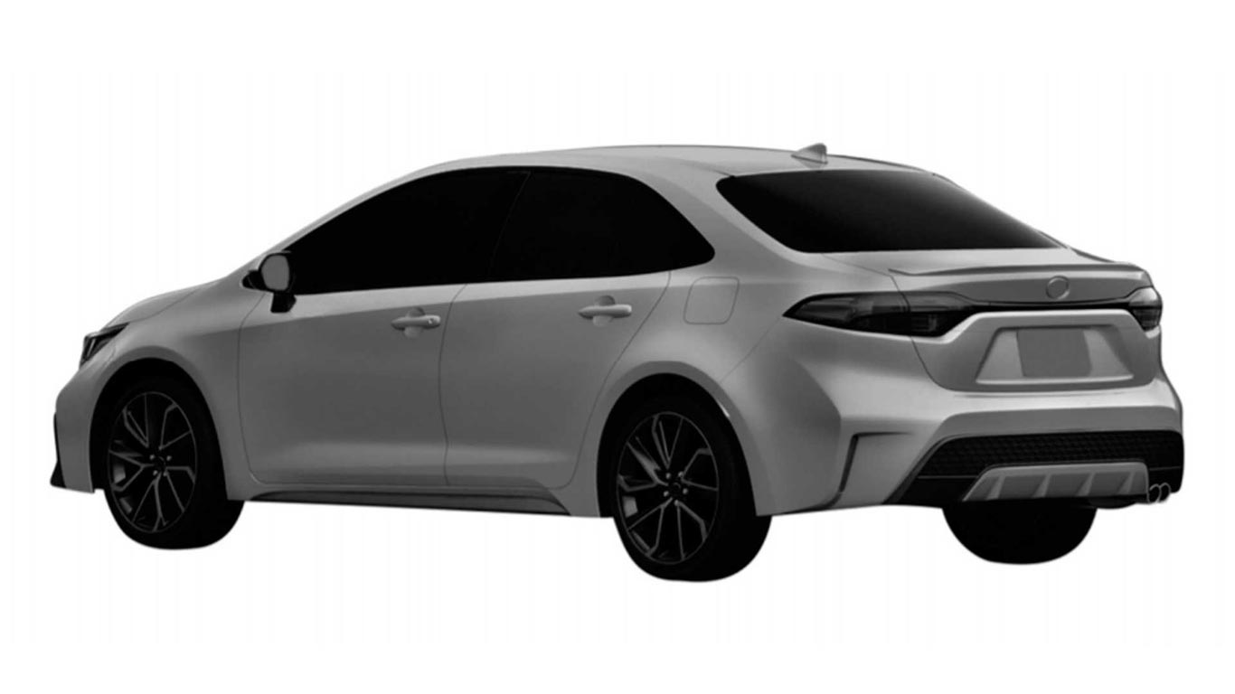 Toyota Corolla XSE INPI Brasil
