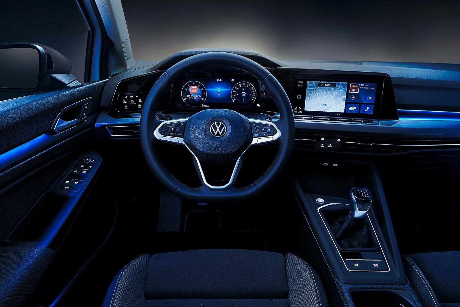 Interior VW Golf 8