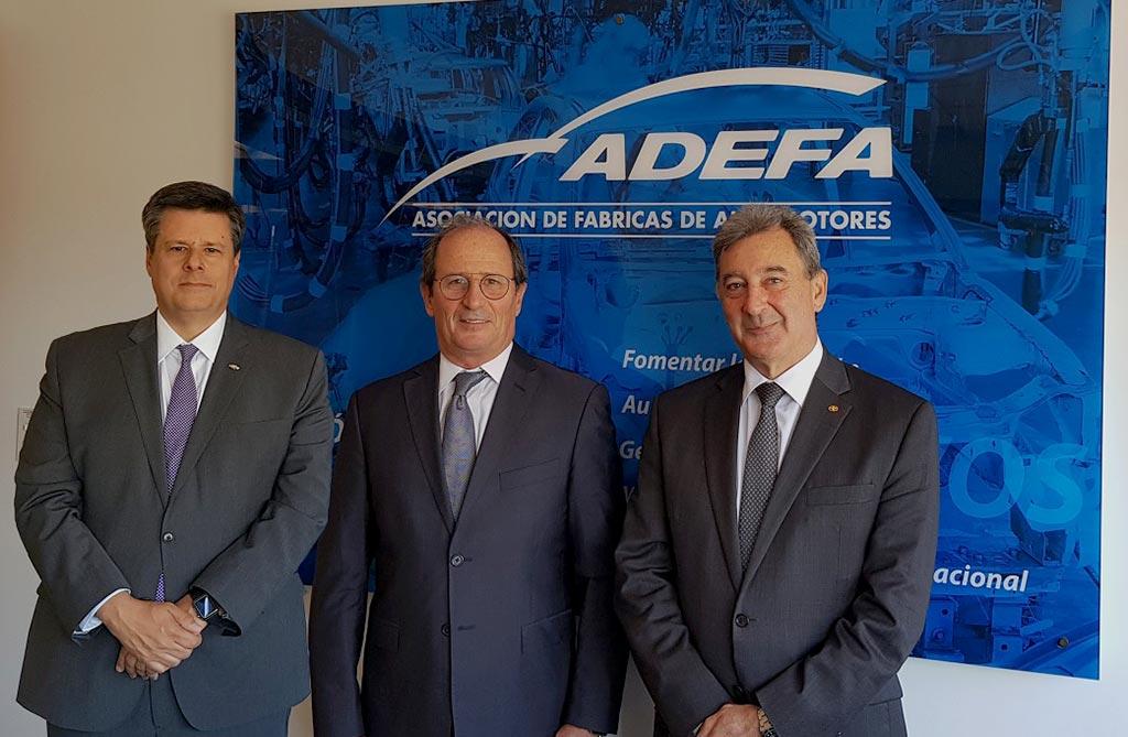 Federico Ovejero, Gabriel López y Daniel Herrero