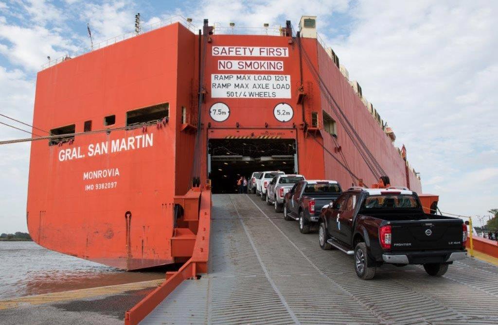 Nissan Argentina exportó su Frontier número 10.000
