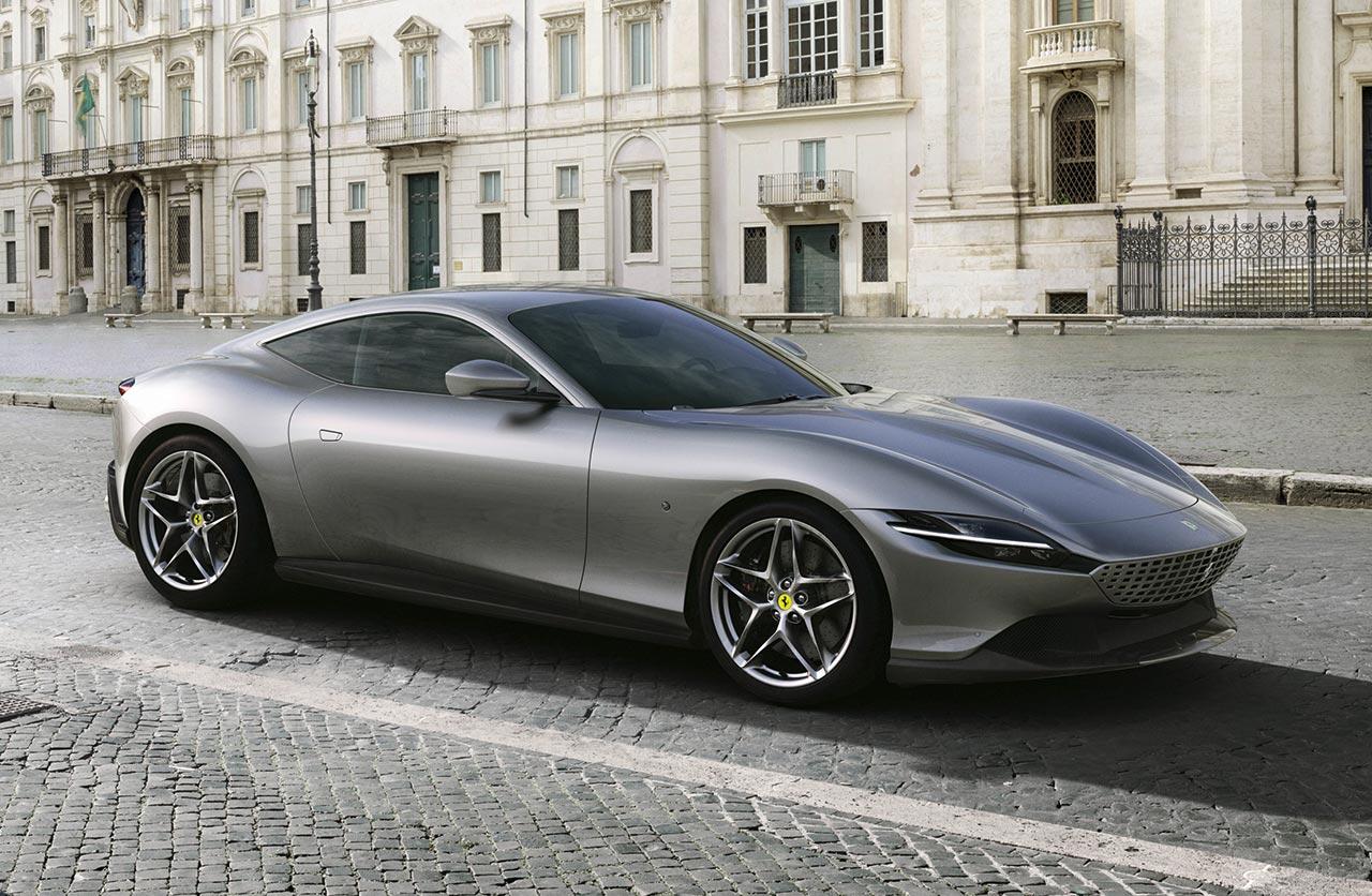 Roma: Ferrari tiene un nuevo superdeportivo