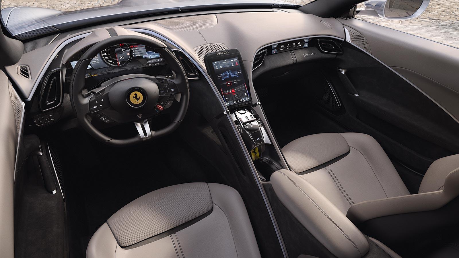 Interior Ferrari Roma