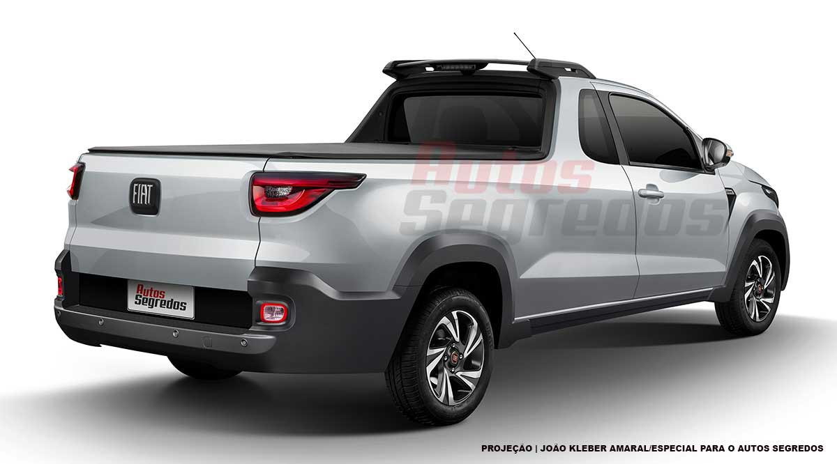 Nueva Fiat Strada 2021 AS
