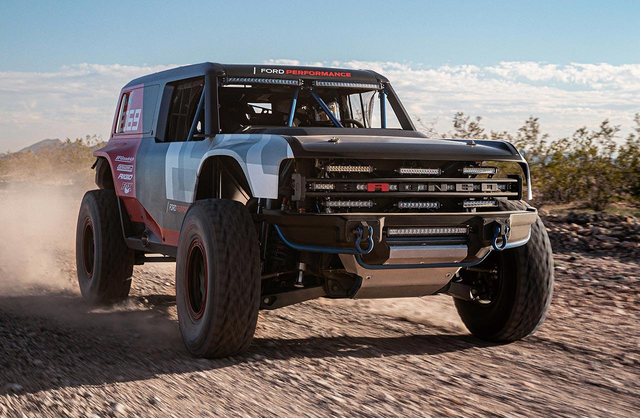 Para 2020: Ford comienza a mostrar el Bronco
