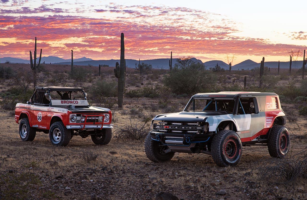 Nuevo Ford Bronco R y Bronco original