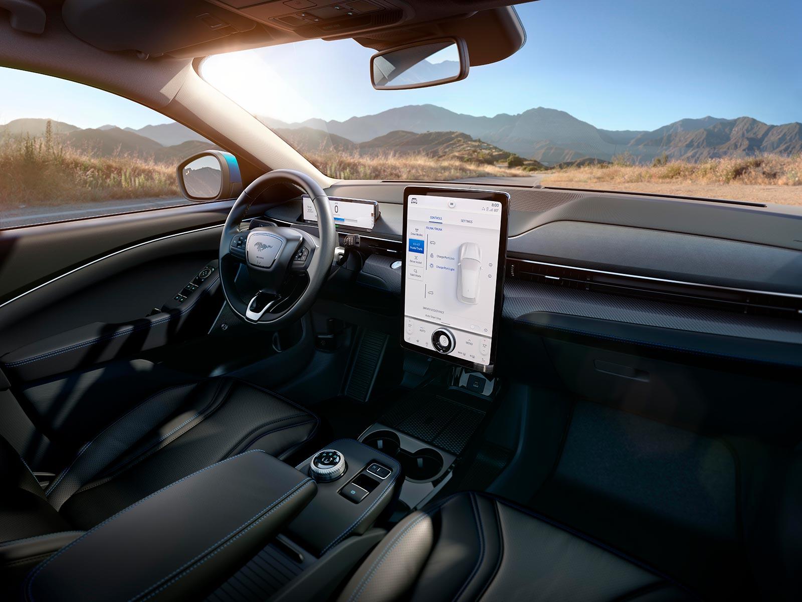Interior Ford Mustang Mach-E