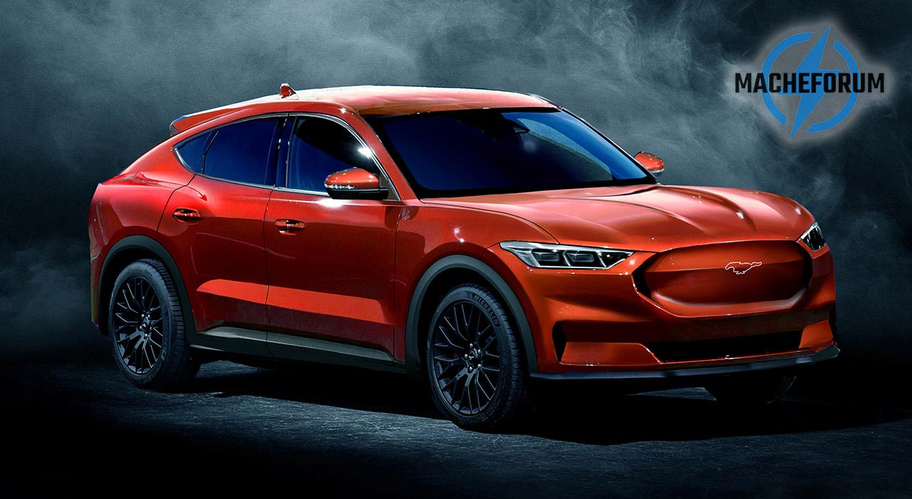 Ford Mustang SUV Mach E
