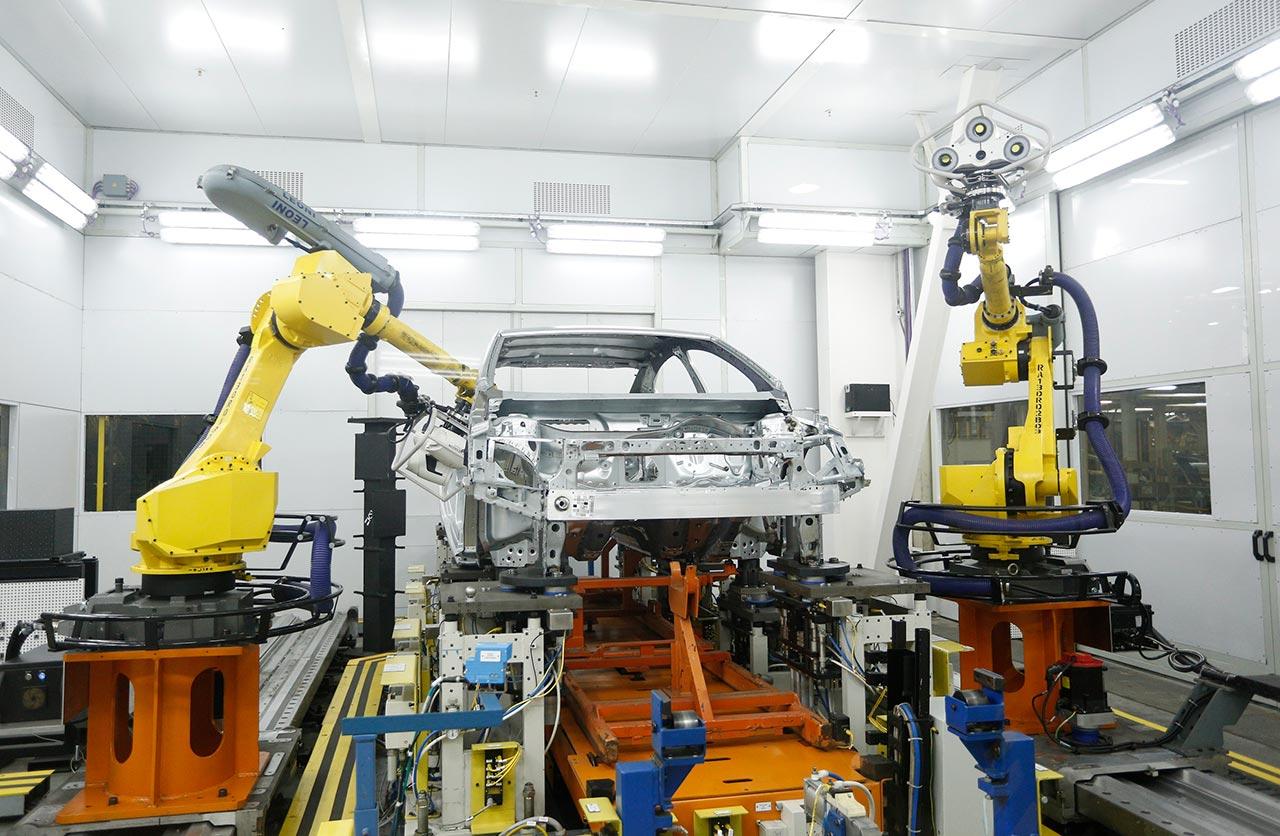 Planta Rosario General Motors - Pintura