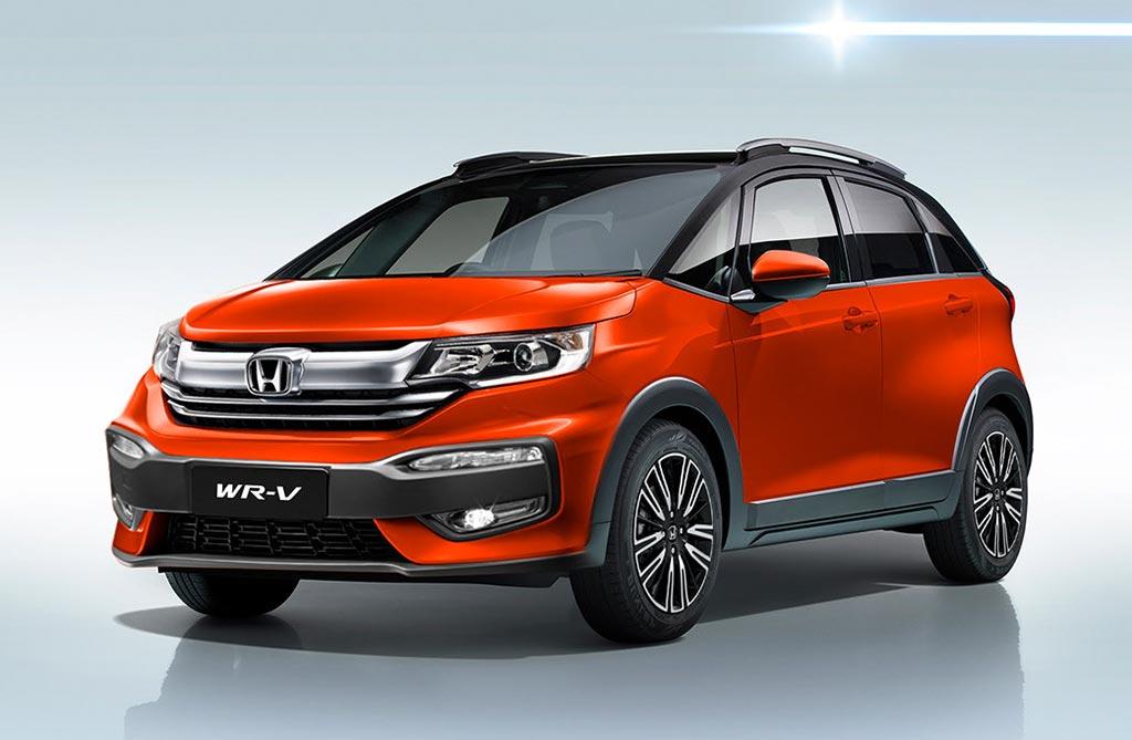 Anticipan la evolución del Honda WR-V