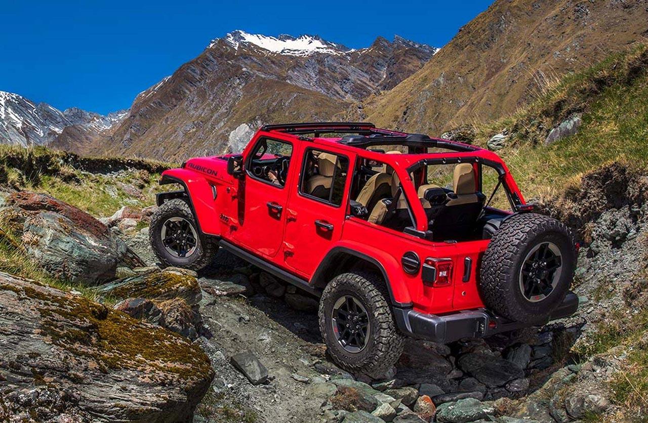 Nuevo Jeep Wrangler Rubicon 4 puertas