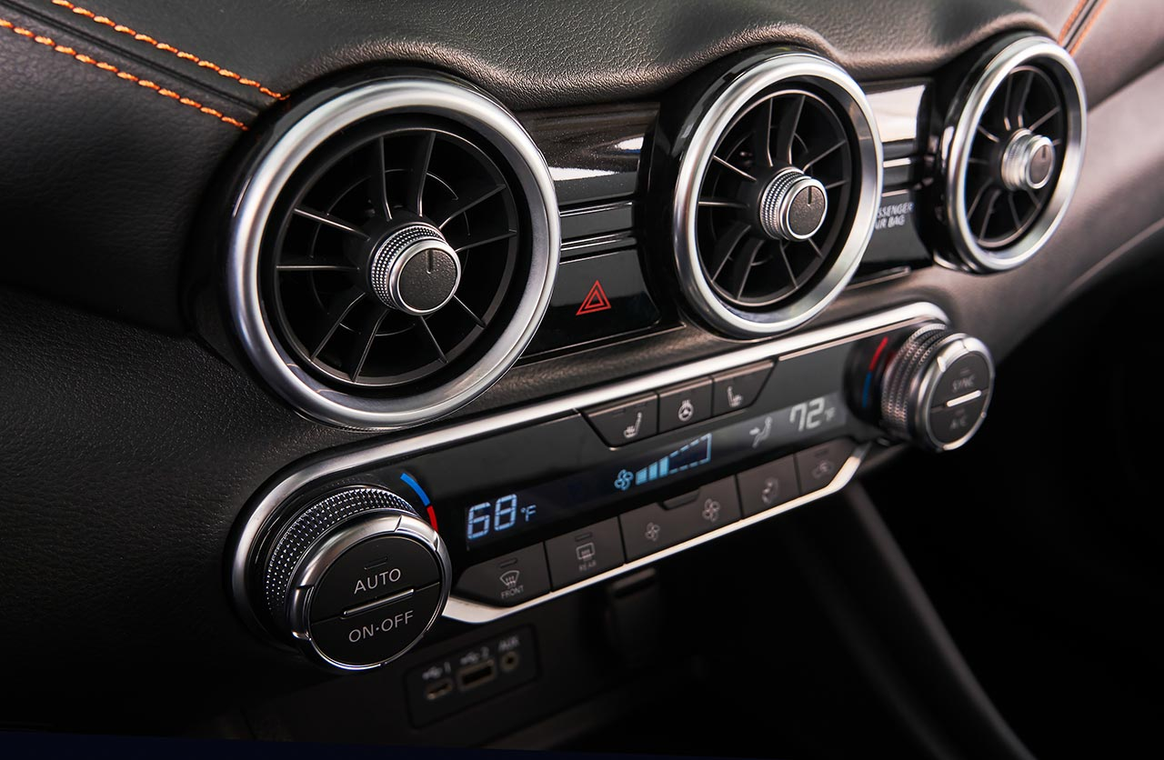 Interior Nuevo Nissan Sentra