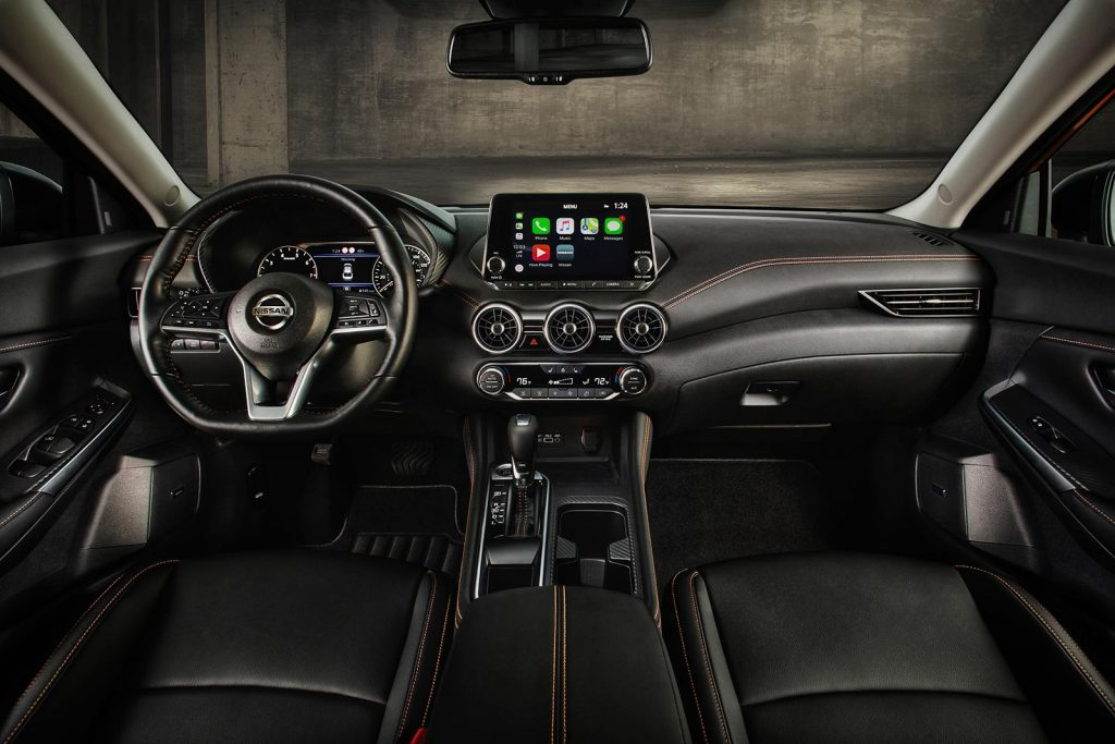 Nissan-Sentra-2020-interior - Mega Autos