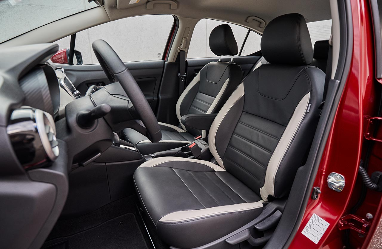 Interior Nuevo Nissan Versa 2020