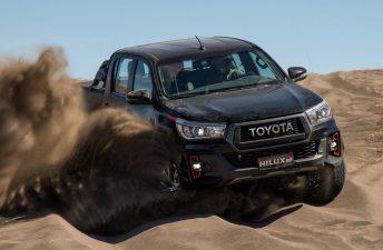 Una Toyota Hilux con un diésel V6 y ¡270 CV!