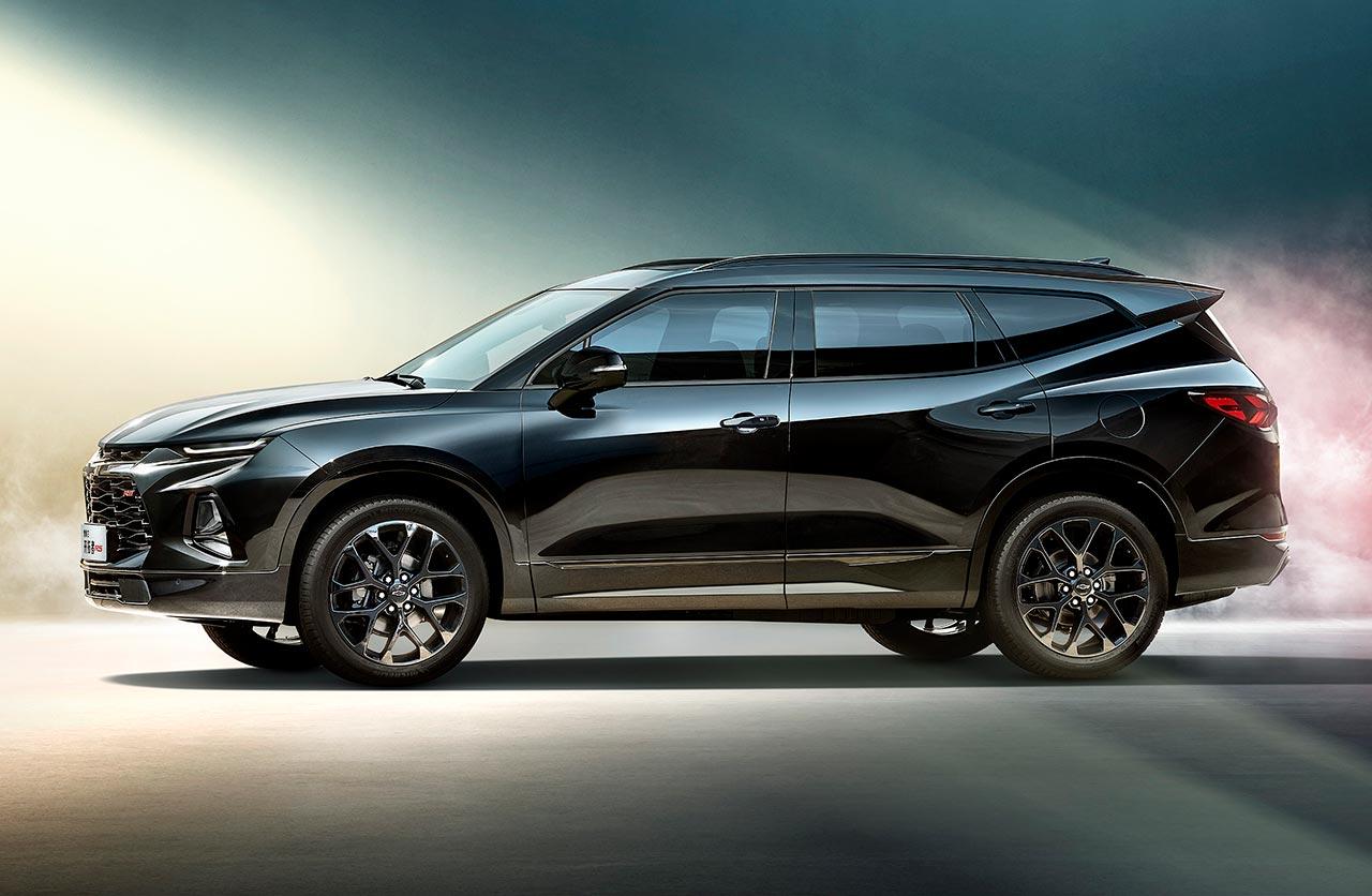 Nueva Chevrolet Blazer con tres filas de asientos