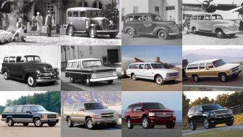 La Chevrolet Suburban cumple 85 años