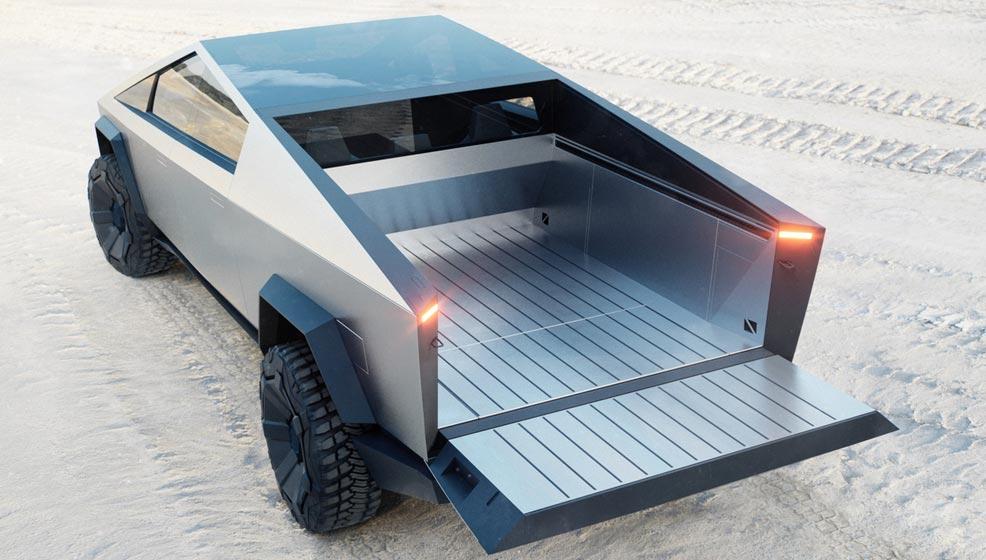 Tesla Cybertruck pick up eléctrica