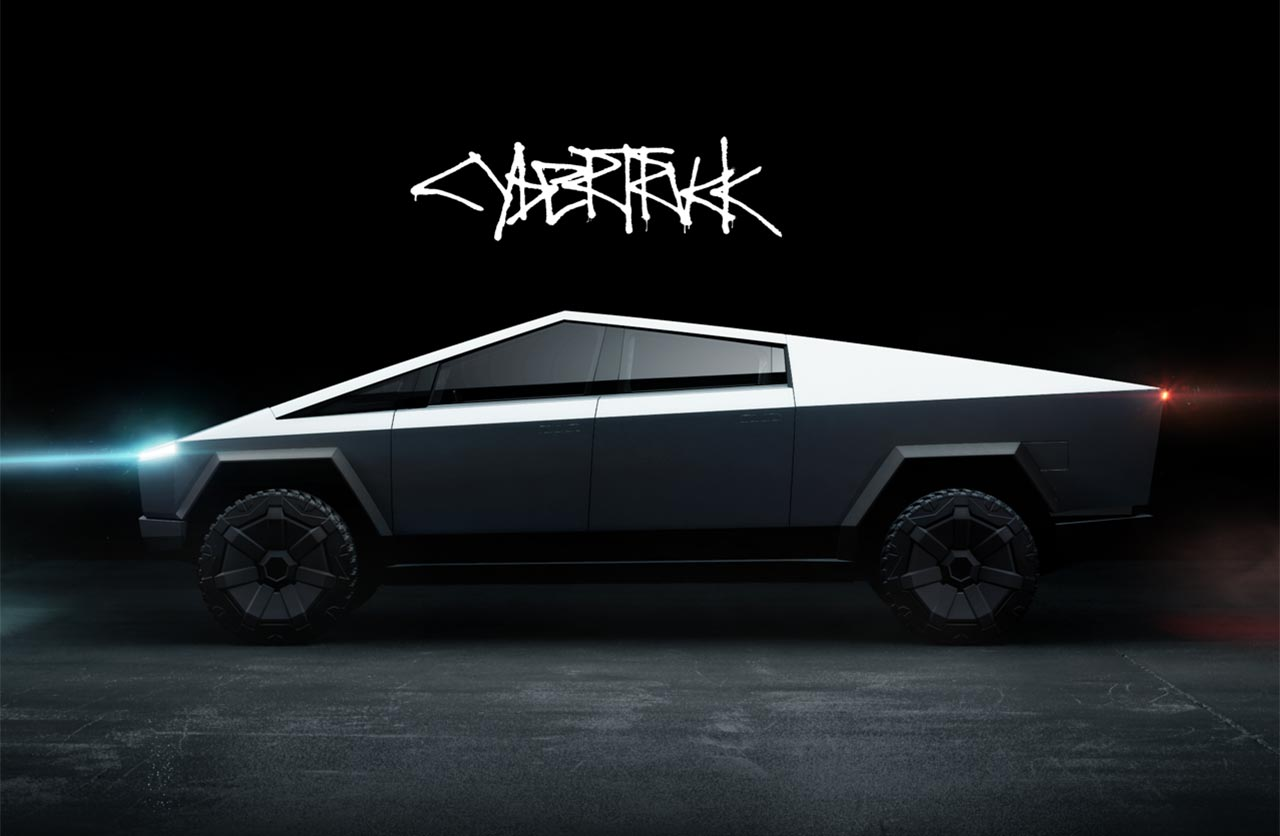 Tesla Cybertruck pick up