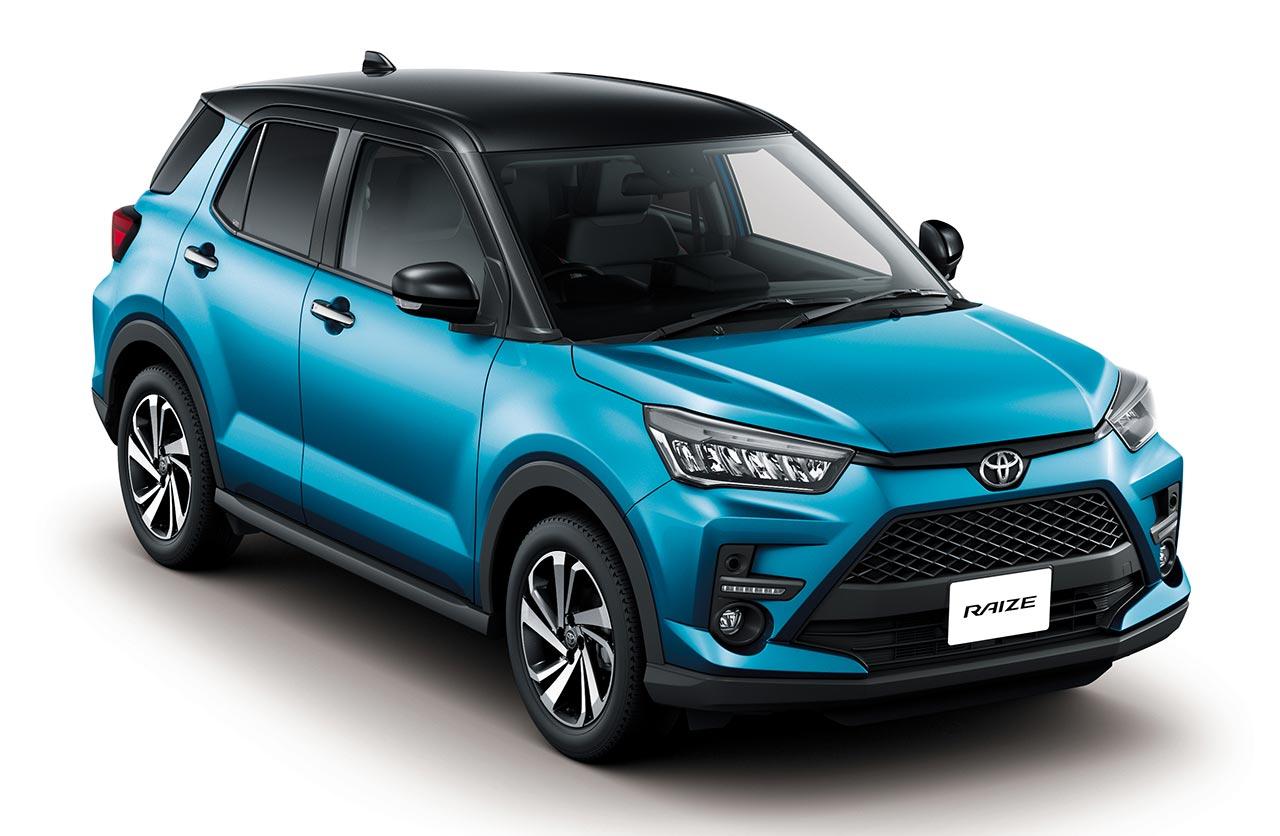 Raize, el nuevo SUV chico de Toyota
