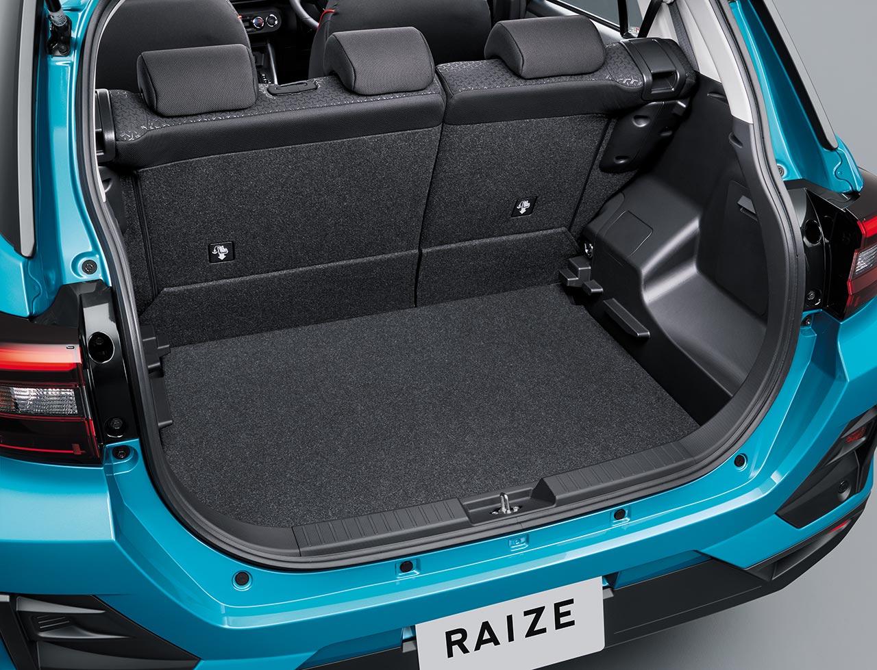 Baúl Toyota Raize