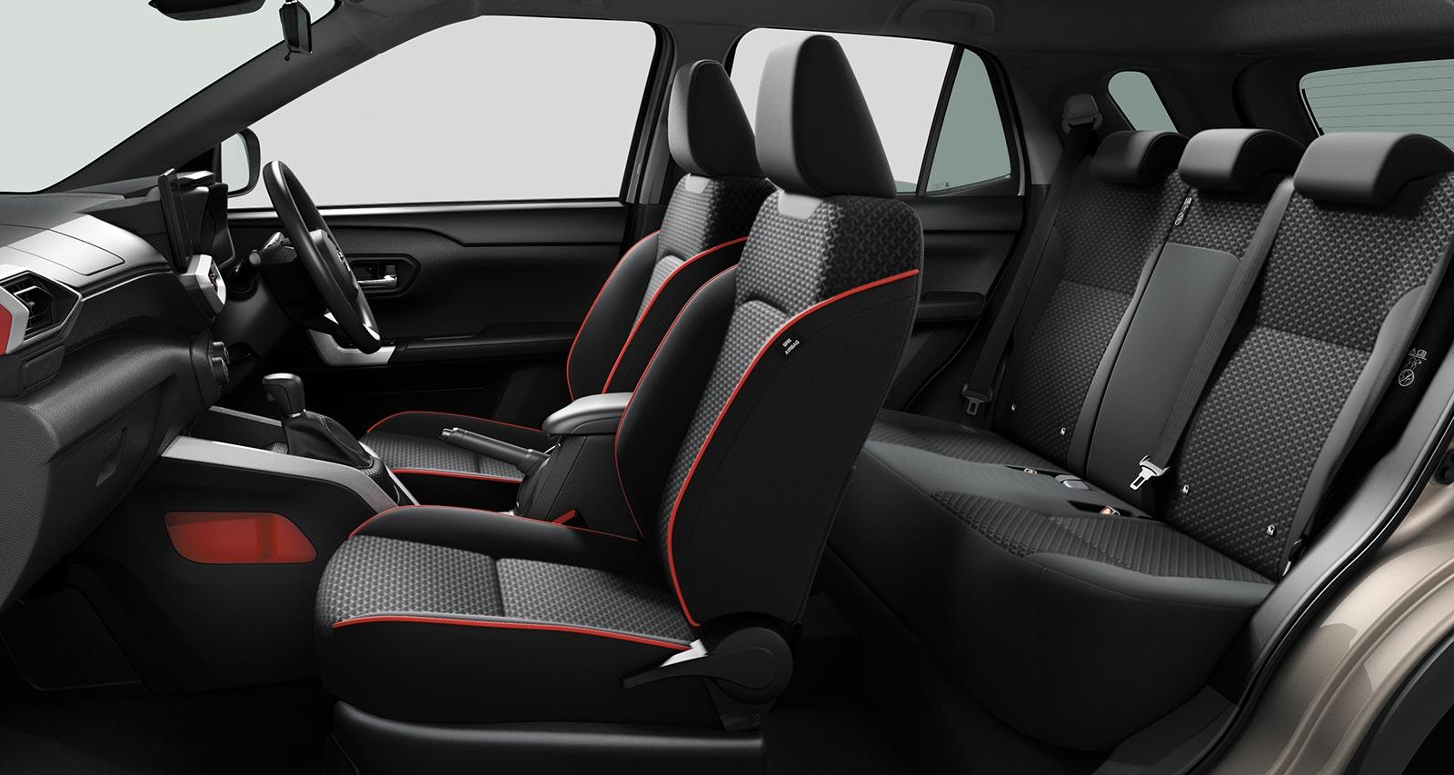 Interior Toyota Raize