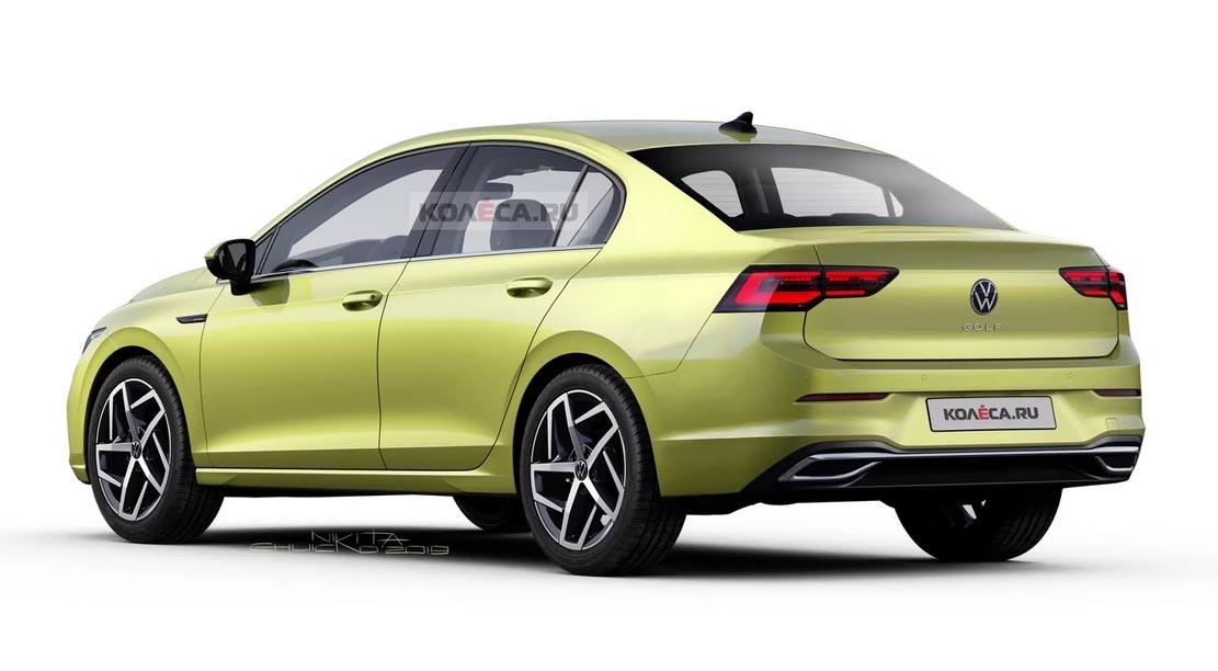 Nuevo Volkswagen Vento basado en el Golf 8