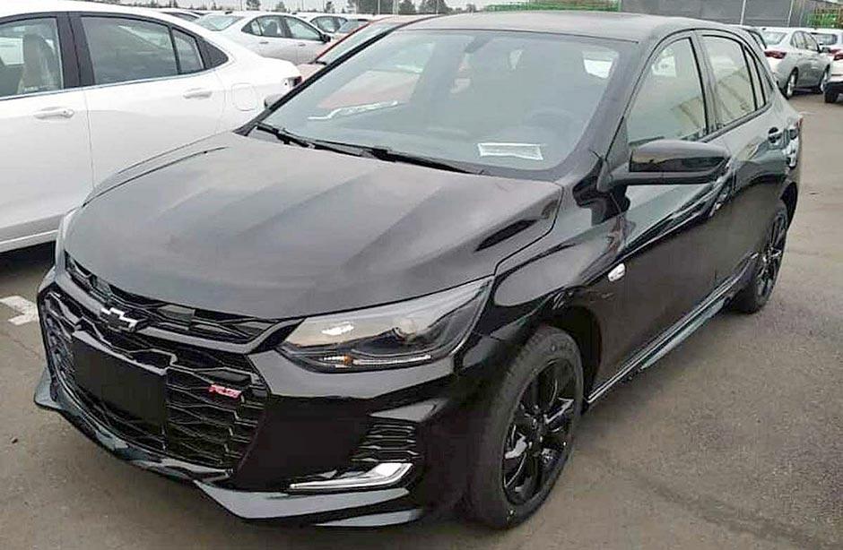 Nuevo Chevrolet Onix RS: con look deportivo