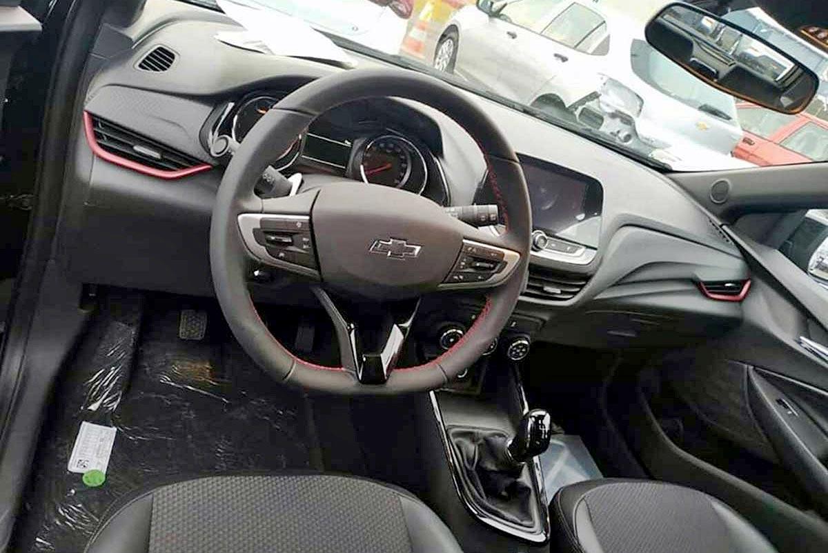 Interior Nuevo Chevrolet Onix RS