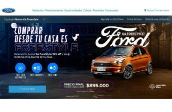 El Ford Ka Freestyle se puede comprar 100% online con entrega a domicilio