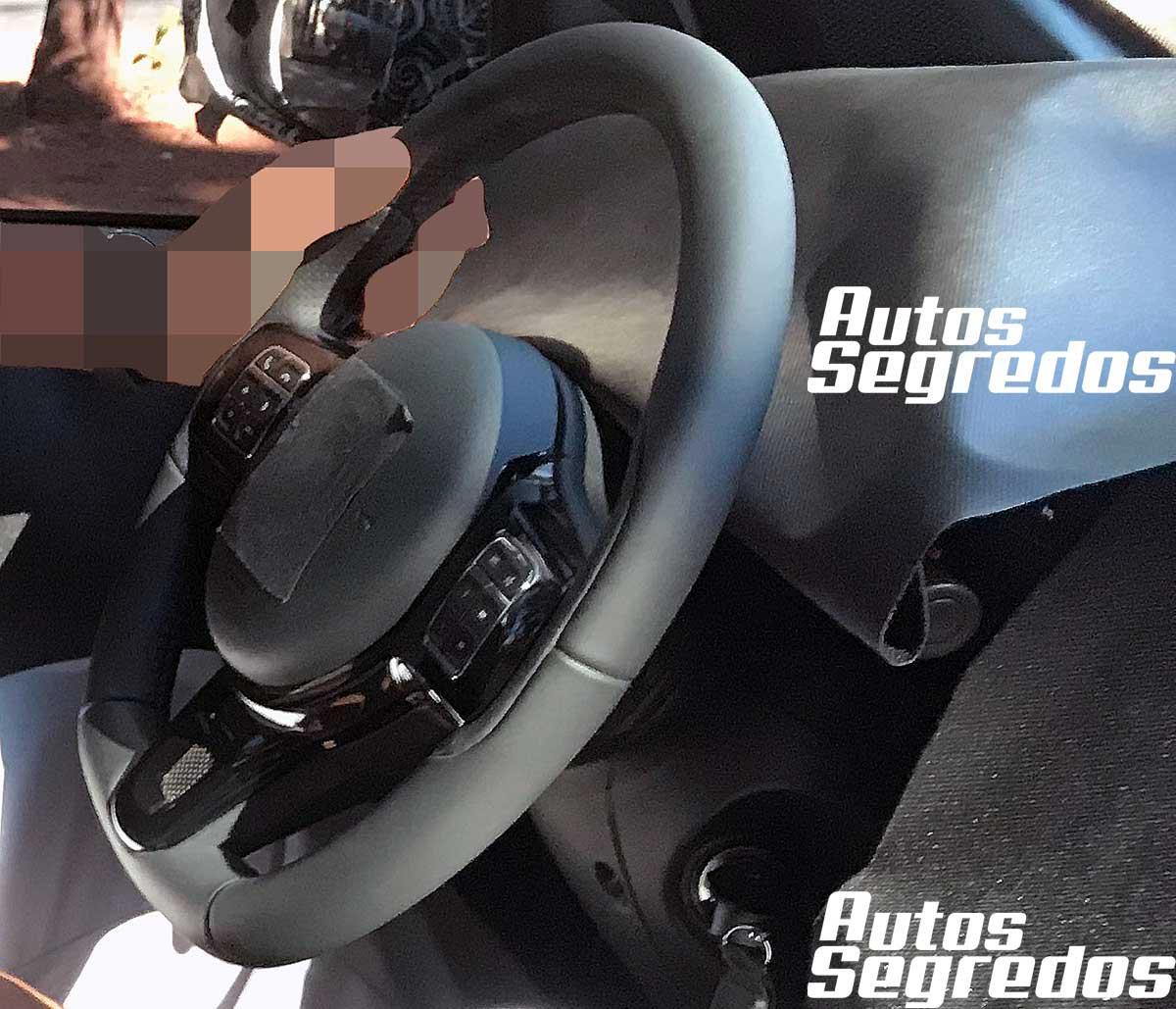 Interior Fiat Strada 2021 foto interior