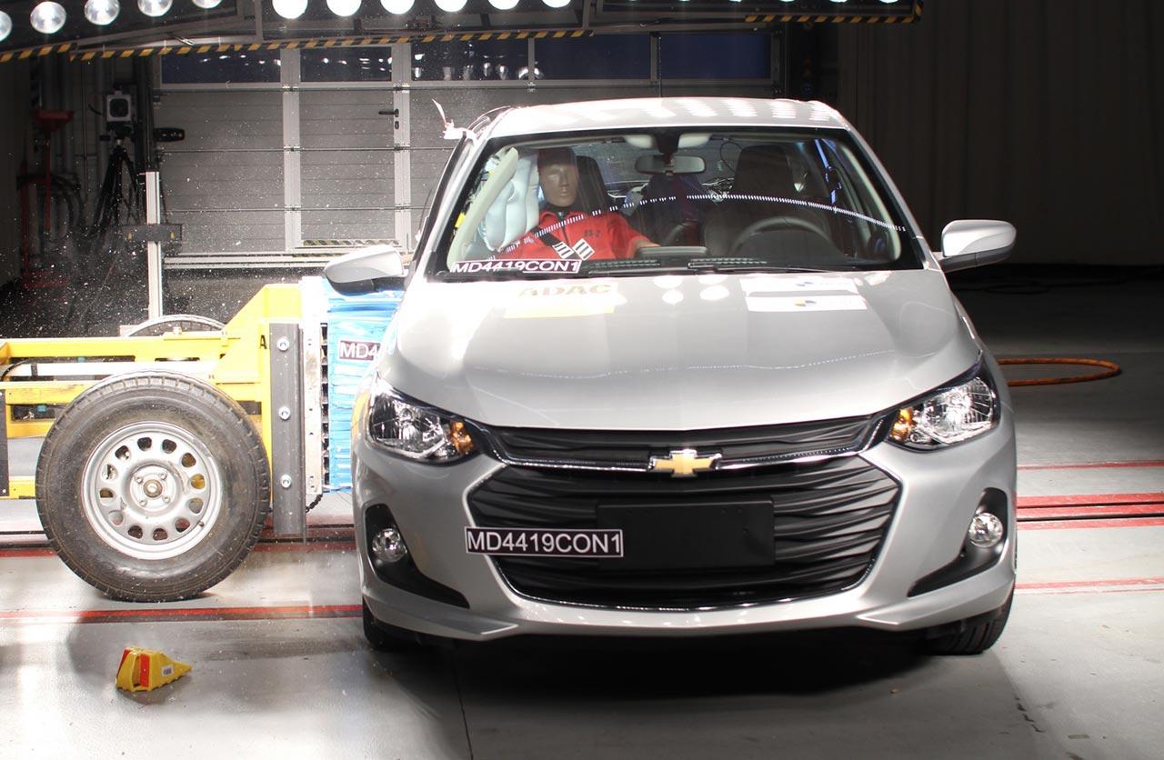 Nuevo Chevrolet Onix hatchback, también con 5 estrellas de Latin NCAP