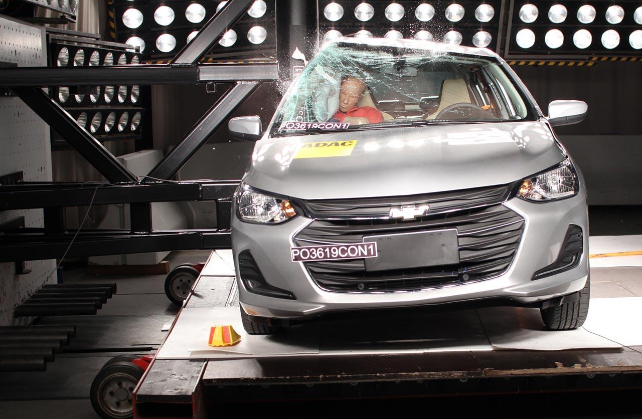 Nuevo Chevrolet Onix hatchback Latin NCAP