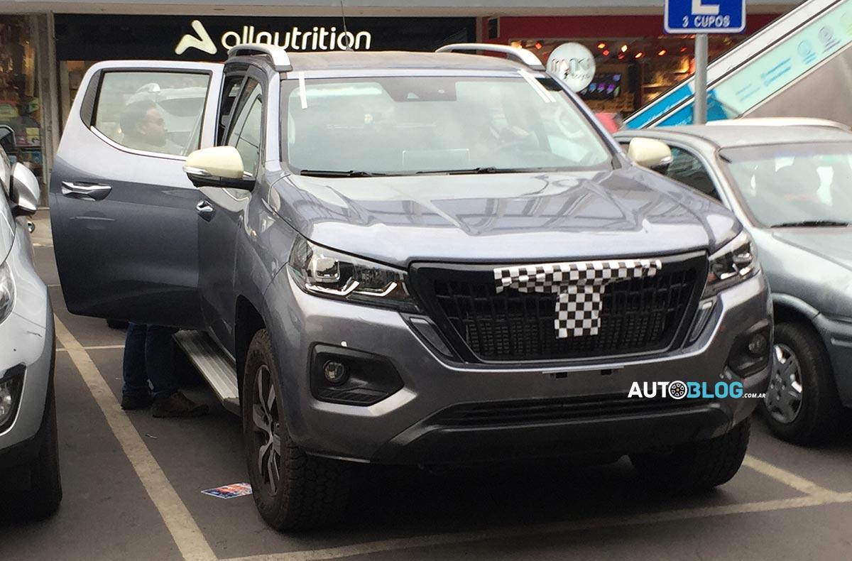 pick up mediana Peugeot