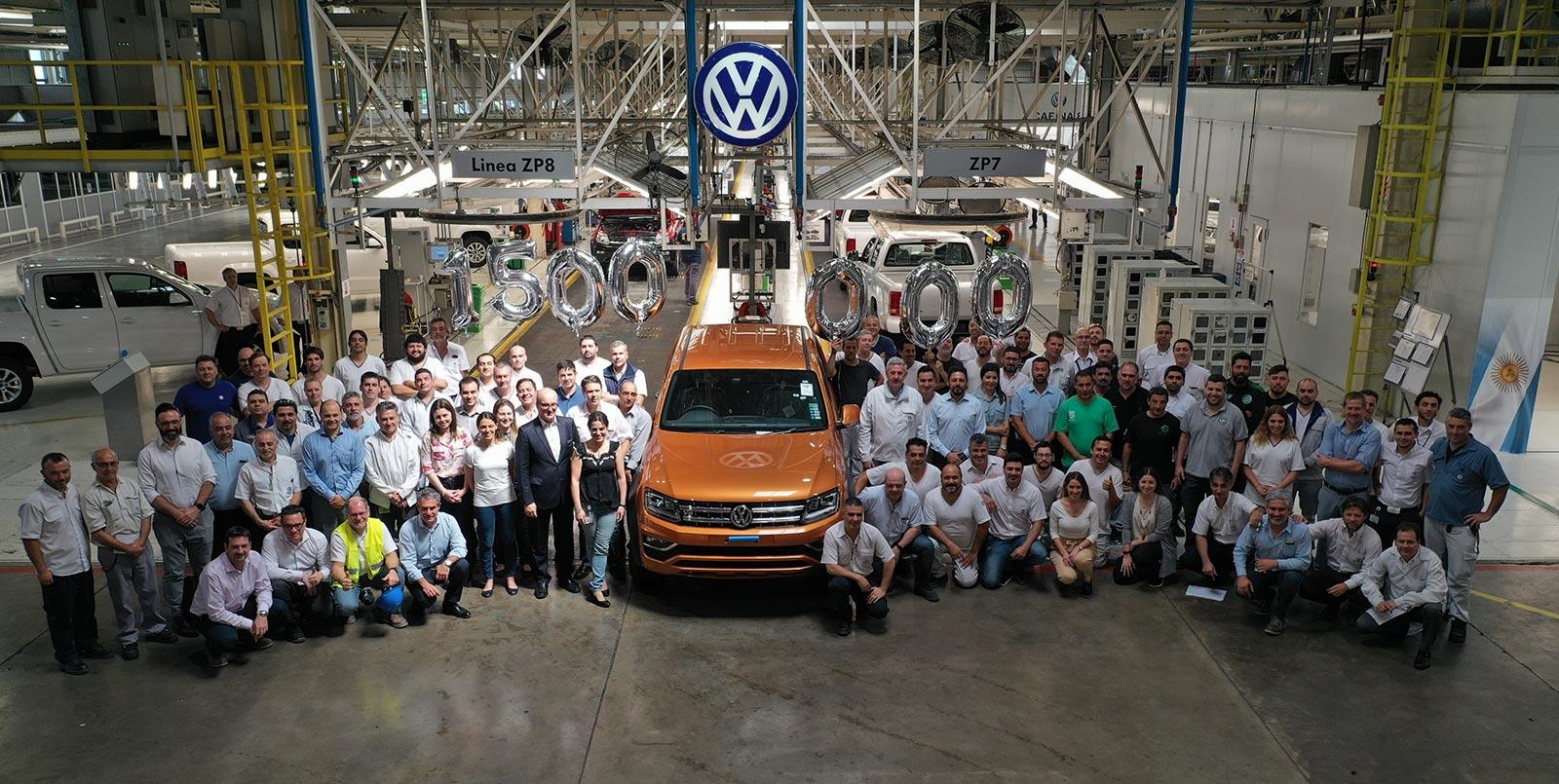 Volkswagen Argentina 1,5 millones de unidades producidas en Pacheco