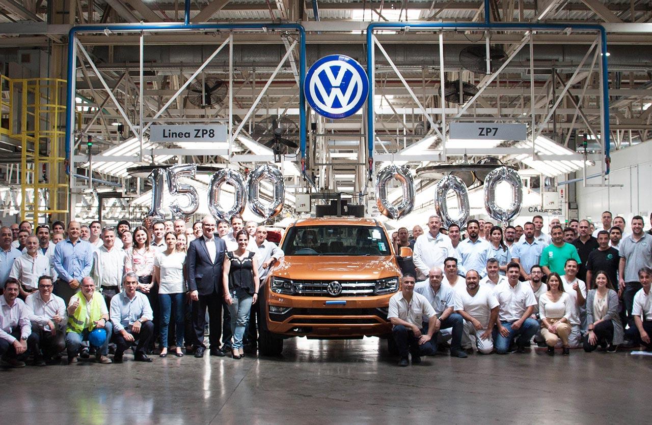 Volkswagen celebra la producción de 1,5 millones de unidades en Argentina